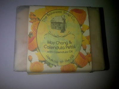 May Chang & Calendula Petal soap from The Bakewell Soap Company.