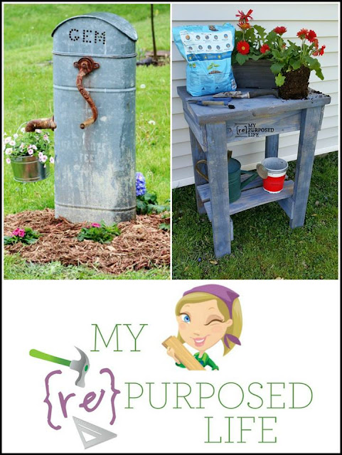 My Repurosed Life |repurposed DIY home decor
