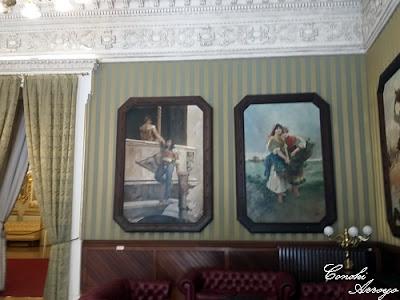 Congresillo sala que da acceso al Salón de Baile en el Casino de Murcia