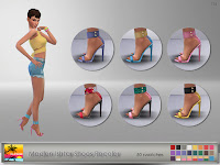 Madlen Ishtar Shoes Recolor
