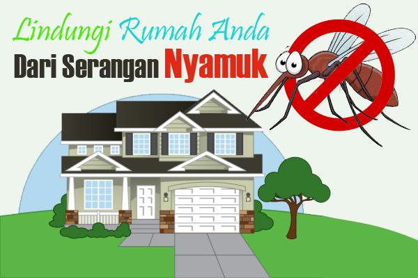 Cara membuat Rumah Bebas Nyamuk
