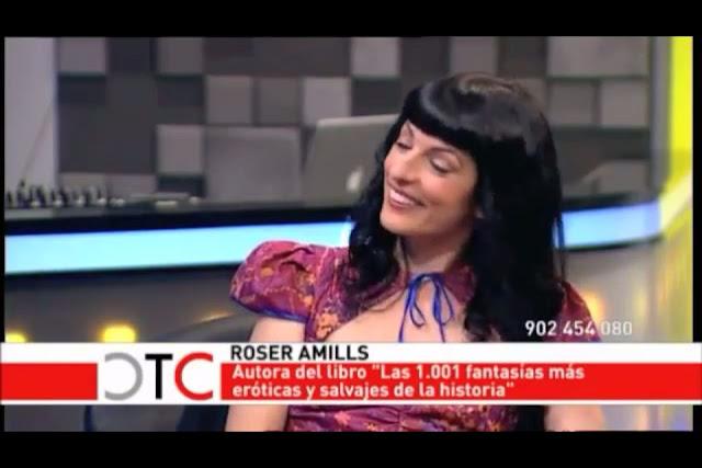 """Las 1.001 fantasías... en TeleMadrid, en """"Territorio Comanche"""" de Cristina Tárrega"""