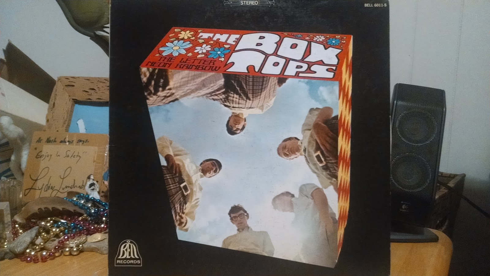 DOWN UNDERGROUND The Box Tops The Letter bw Neon Rainbow LP w
