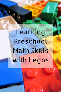 Learning Preschool Math Skills with Legos