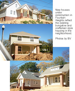 Photo of New houses under construction in Fountain heights