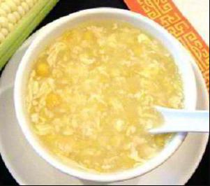 Sup Jagung Rajungan Tahu Special