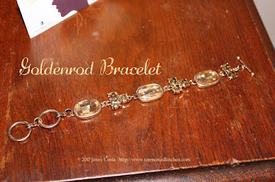 image of goldenrod bracelet