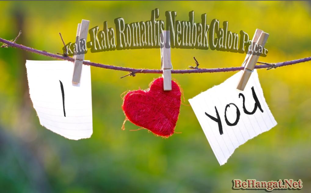 Kata-Kata Romantis buat Nembak Calon Pacar - BeHangat.Net