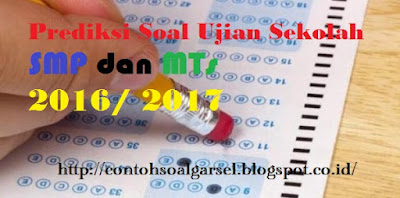 Soal Latihan Ujian Sekolah PKN SMP 2016/ 2017
