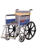 Vissco Invalid Wheelchair-Regular
