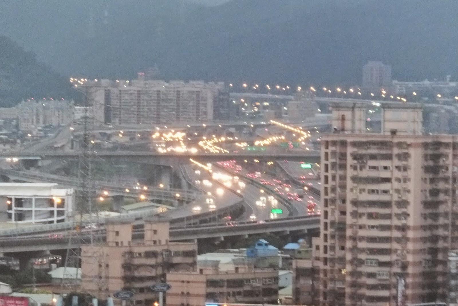 Taiwan-highway 台湾の高速道路