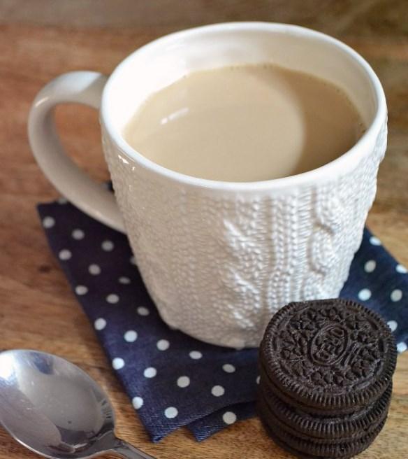 Sweet Cinnamon Milk Tea #fallrecipe #drink