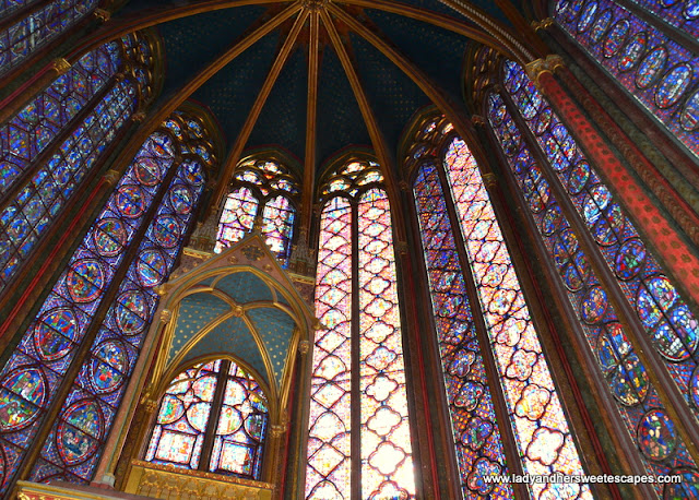 Saint Chapelle stained glass windows