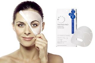 Mặt nạ Transino Whitening Facial Mask - mặt nạ làm trắng da, dưỡng ẩm da hiệu quả