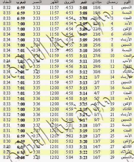 إمساكية رمضان 2015-1436 مصر موعد الصلاة والإفطار والسحور رمضان-إمساكية رمضان 2015 الموافق 1436مصر -امساكية شهر رمضان 2015 1436 موعد شهر رمضان في مصر-رمضان 2015 تقويم- إمساكية رمضان 2015 مصر-روزنامة رمضان - موعد الإفطار- موعد السحور-Ramadan fasting hours-Ramadan Imsakiaa