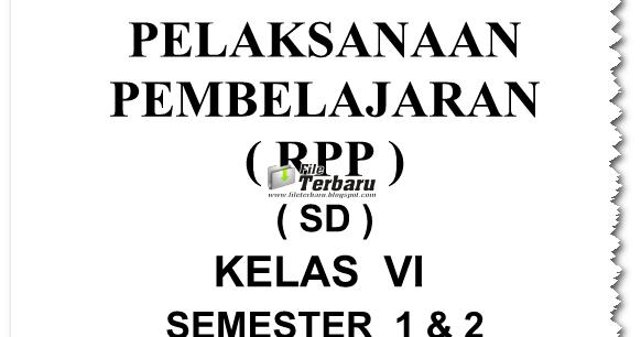 Download Rpp Pkn Ktsp Kelas 1 2 3 4 5 6 Gratis 2016 File Terbaru