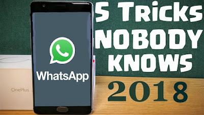 5 Best whatsapp tricks in 2018