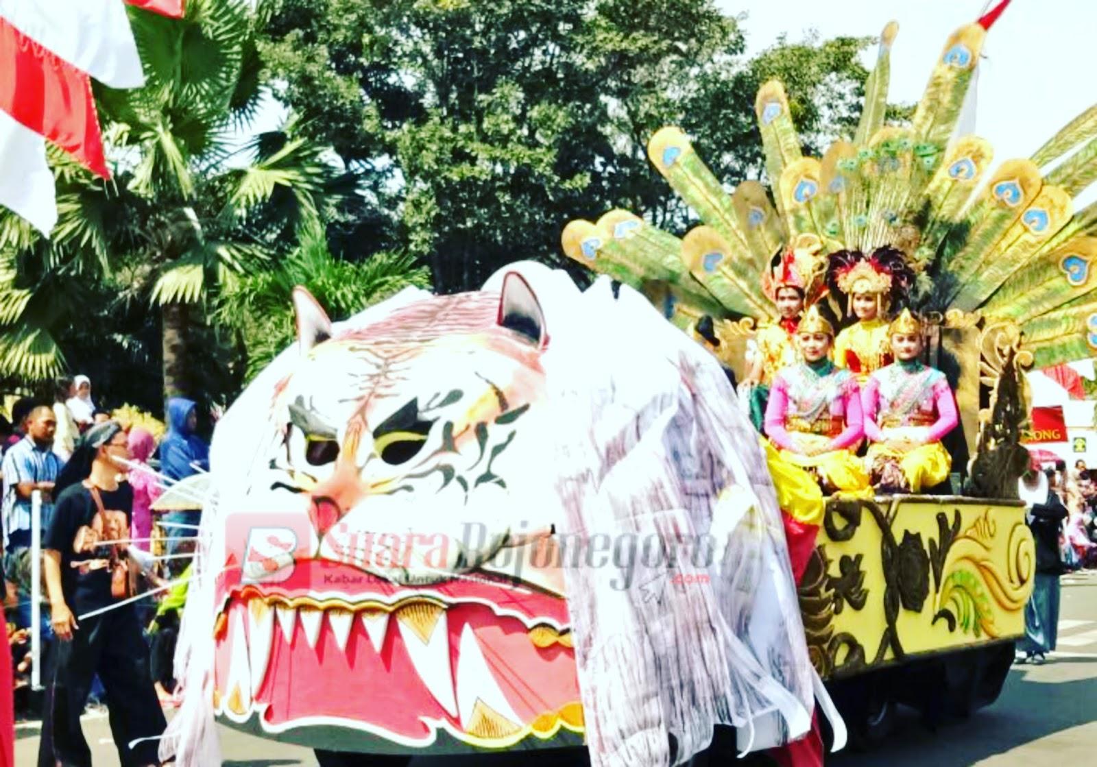 Karnaval Tuban, Tampilkan Budaya Nusantara