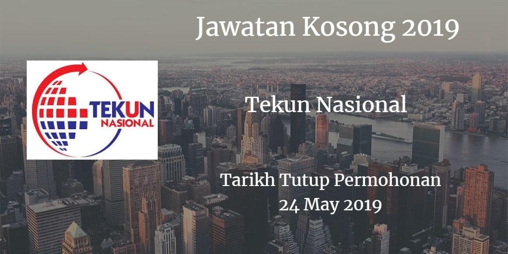 Jawatan Kosong Tekun Nasional 24 May 2019
