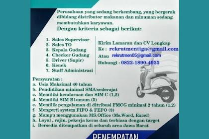 Gaji UMK TASIK, Loker CV. Tirta Angkasa