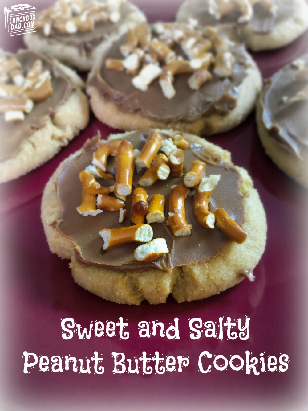 Sweet and Salty Peanut Butter cookie recipe