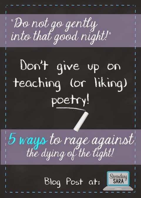 Poetry instruction seems to fade more and more from ELA instruction every year, but it's so important for students to read, write, and hear poetry! This blog post provides five ways for you to teach poetry, whether you just want to supplement your unit of instruction with some poetry or if poetry IS your unit of instruction!