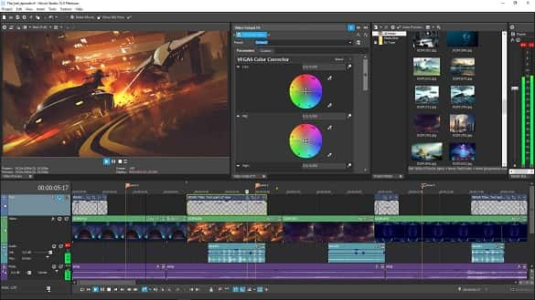 Vegas Movie Studio Software Edit Video Ringan
