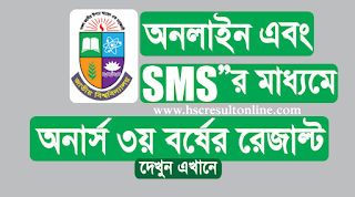 Honours 3rd year exam result 2019
