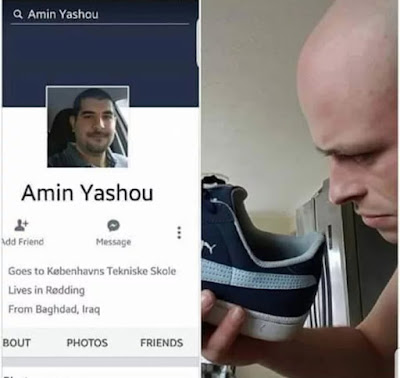 Amin Yashou - Lives in Redding - From Baghdad, Iraq