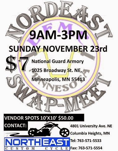 Gophers and Cheese: Nordeast Swap Meet - Nov 23