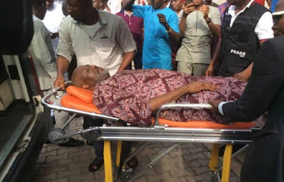 Falana Reacts To Dino Melaye's Arraignment On Stretcher