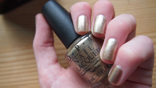 OPI Glitzerland Nail Polish swatch