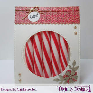 Divinity Designs Custom Dies:Festive Favors, Stamp Set; Festive Favors Tag Sentiments, Paper Collection: Christmas 2015