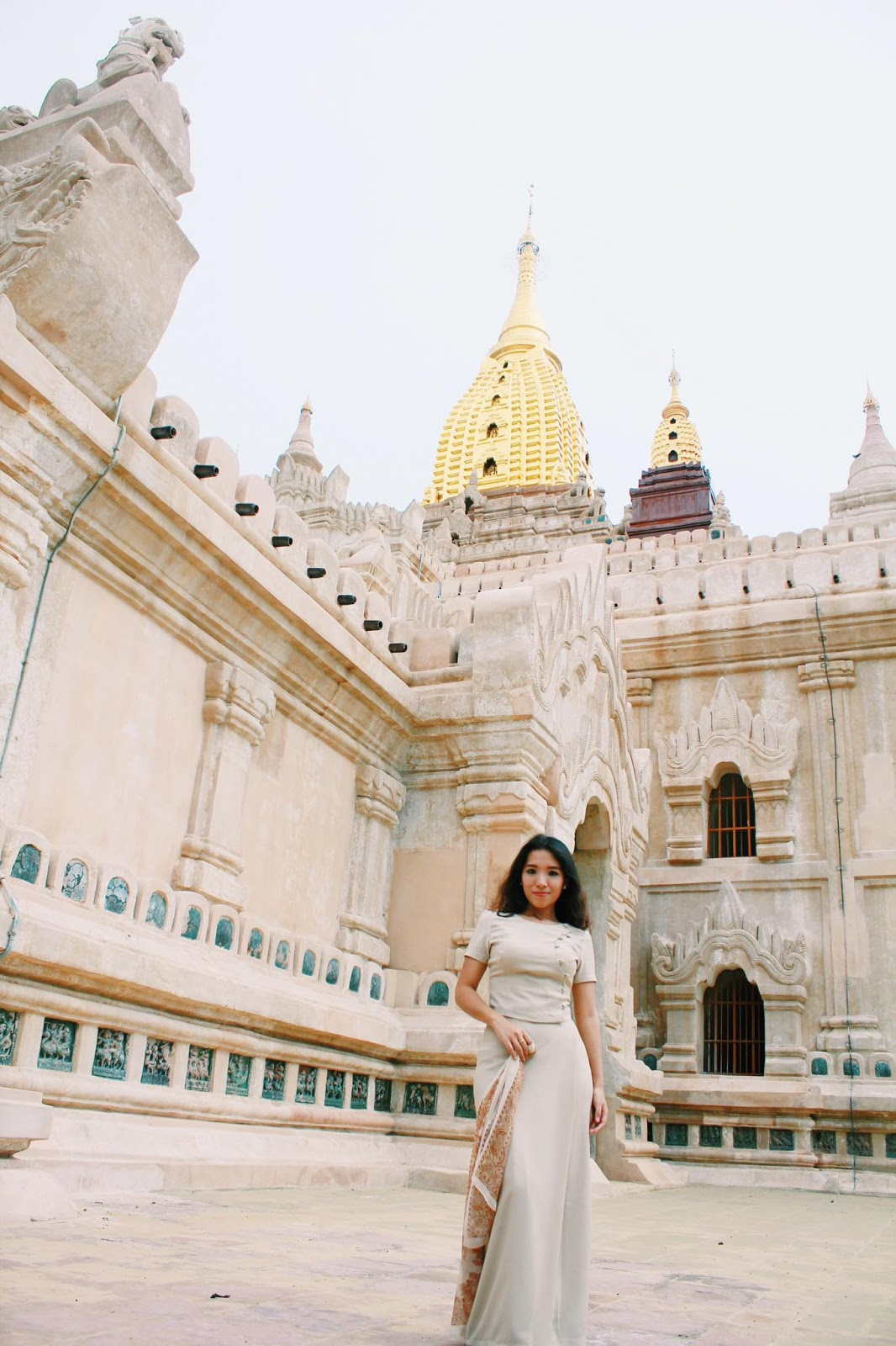 Myanmar Model Nang Mwe San In Bagan Photoshoot