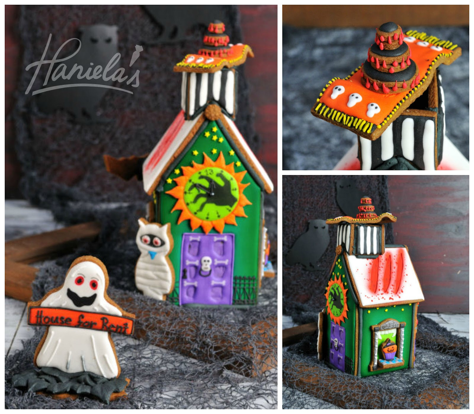 Haniela's: Haunted Gingerbread House For Halloween