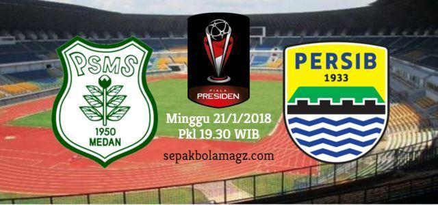 PSMS vs Persib