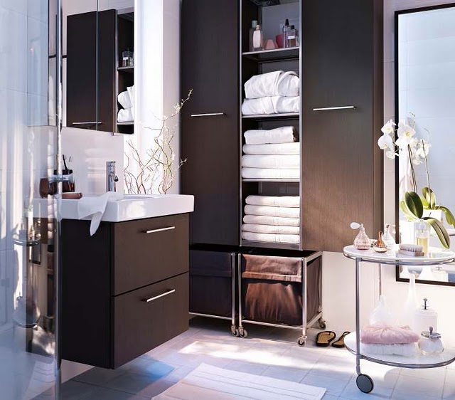 Modern House: Latest Modern Bathroom Designs From IKEA