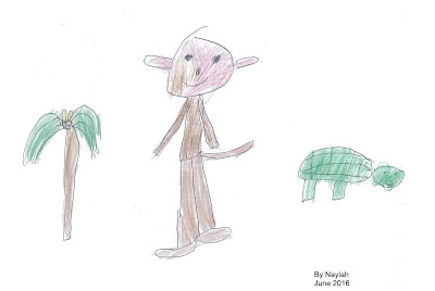 Monyet-dan-kura-kura