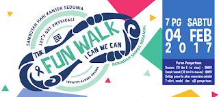 Image result for fun walk kanser 2017