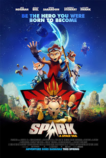 Spark: A Space Tail Movie Poster 1