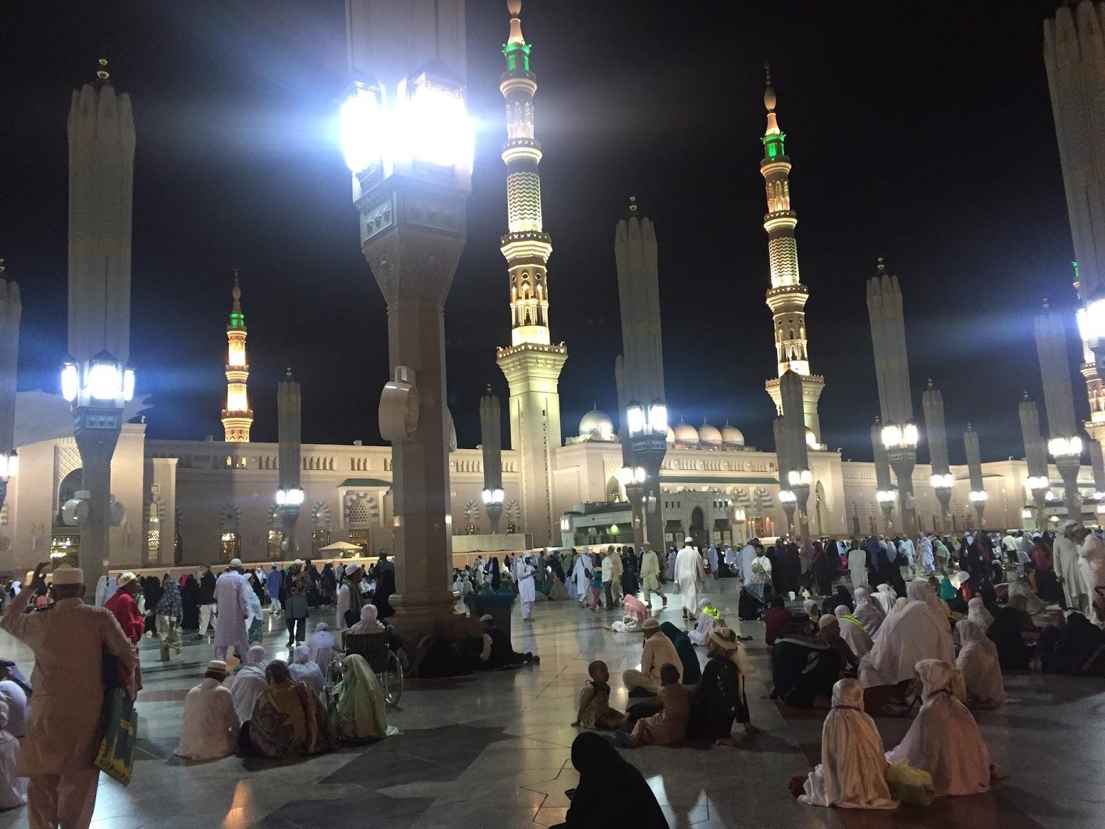 Umrah PertamaKu - Sekitar Masjid Nabawi