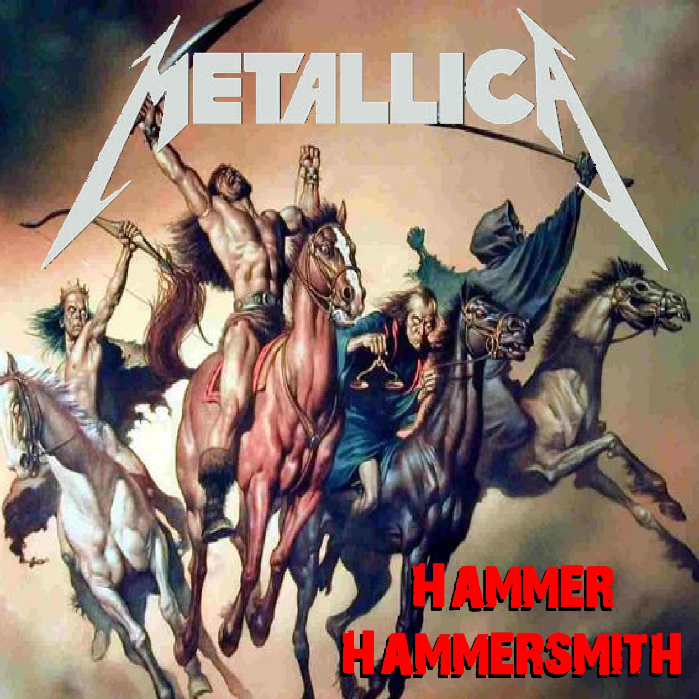 HEAVY-ROCK BOOTLEGS: Metallica:1988-10-09-Hammersmith Odeon