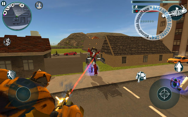 game X Ray Robot Apk v1.3 For Android Versi Terbaru