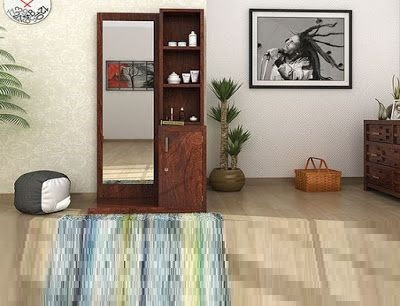 modern wooden dressing table designs for bedroom interior decor