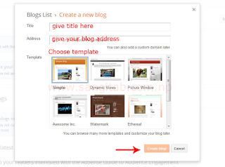 Create a Blog