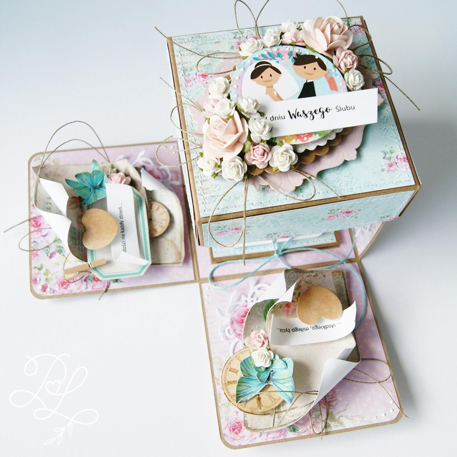 Exploding box - na ślub w sam raz