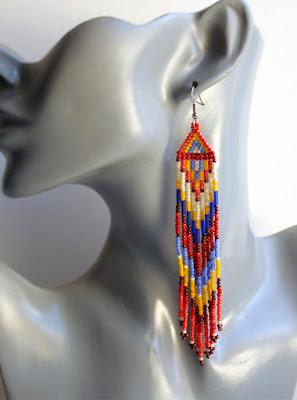 купить серьги этническом стиле украшения ручной работы куплю