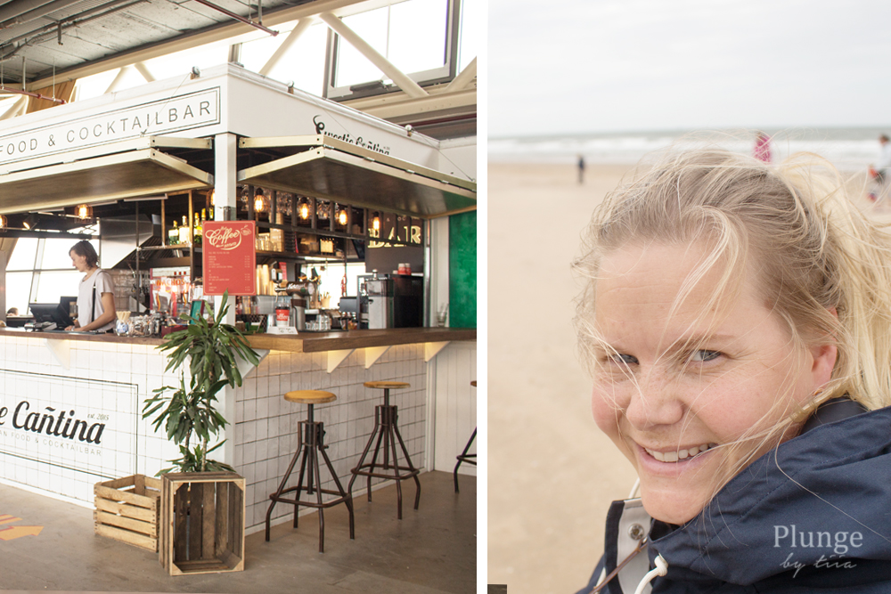 Food bar in Scheveningen Pier