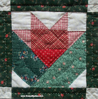 free pattern for a flower block