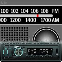 Emissoras de rdio da cidade de So Paulo, AM e FM.